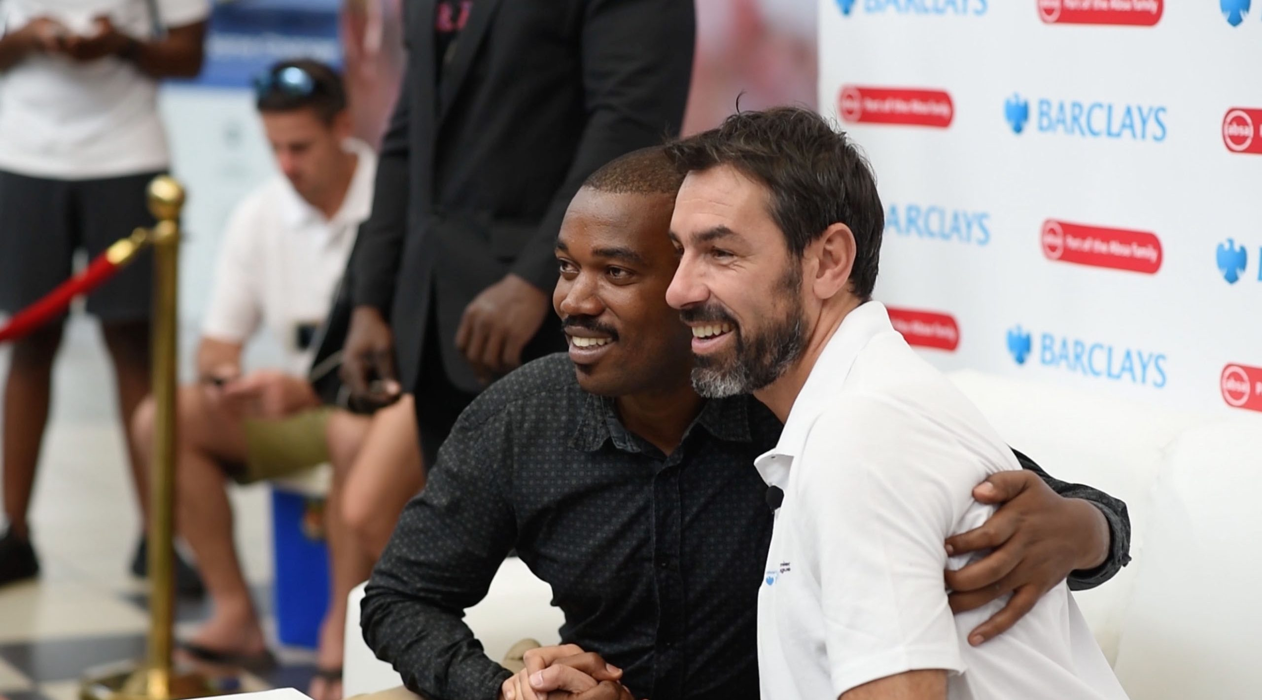 Robert Pires in Tanzania For Barclays/Absa's #SuperFansUnited